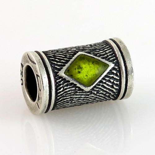 Phoenix Round Bead Fingerprint Charm