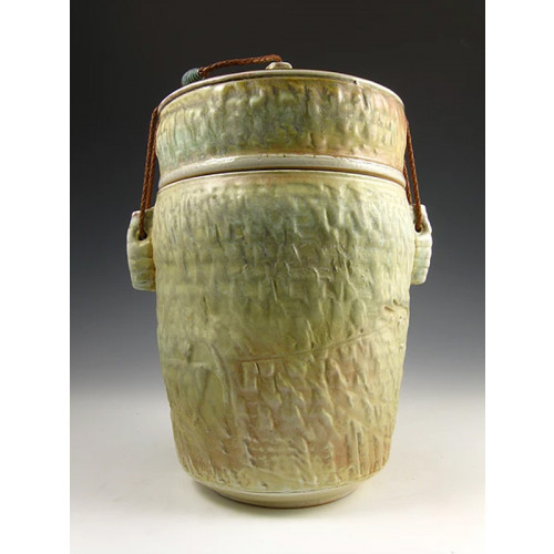 The Quiet Temple Soda Fired Ceramic Cremation Urn