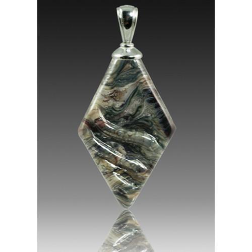 Rhombic Pendant - Granite