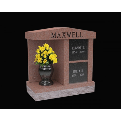 Maxwell Two Niche Columbaria with Alcove