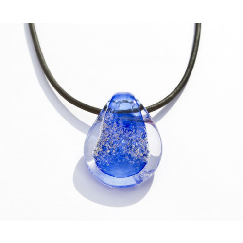 Sky Blue Cremation Pendant