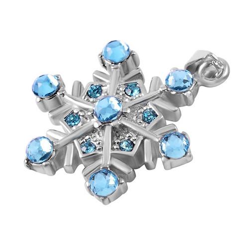 Snowflake Cremation Pendant
