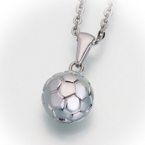 Soccer Ball Cremation Pendant