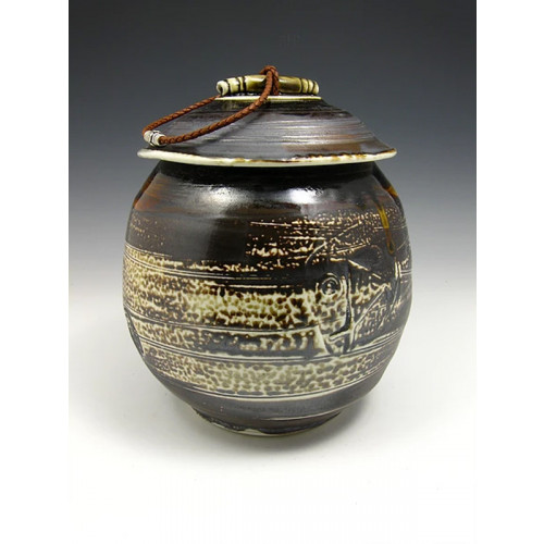 The Soda Fired Ceramic Cremation Urn Three