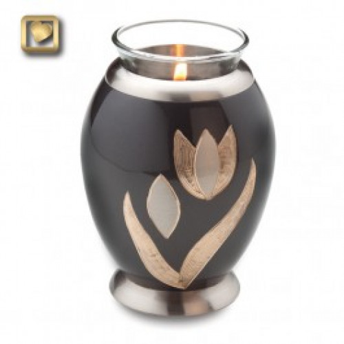 TeaLight Tulip Cremation Urn for Ashes