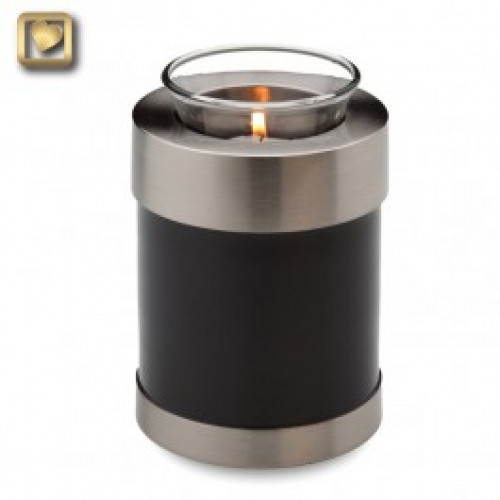 Tealight Midnight Cremation Urn for Ashes