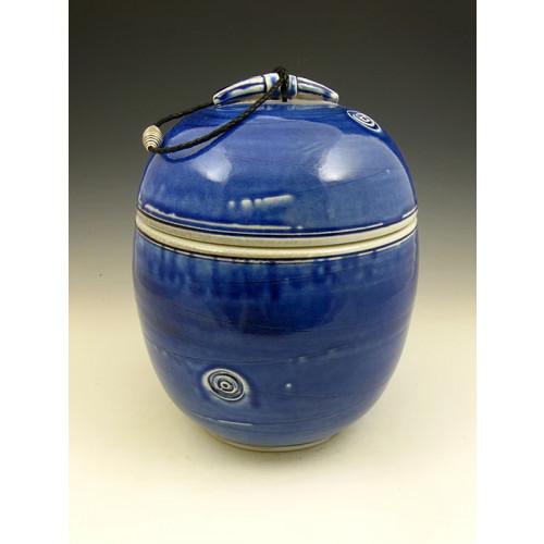 The Oceans Soda Fired Ceramic Cremation Urn