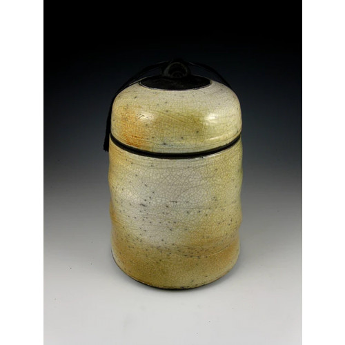 The Quiet Warmth Raku Ceramic Cremation Urn