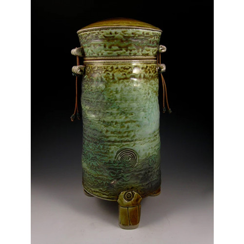 The Sunrise Chaser Three Soda Fired Ceramic Cremation Urn