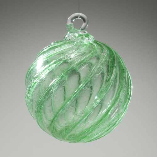 Timeless Sphere Cremation Ornament - Green