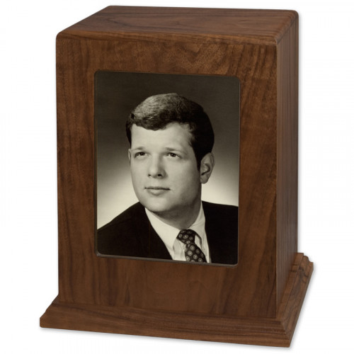 Photo Display Urn - Vertical