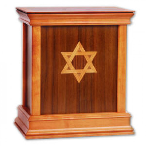 Star of David Contemporary II Urn