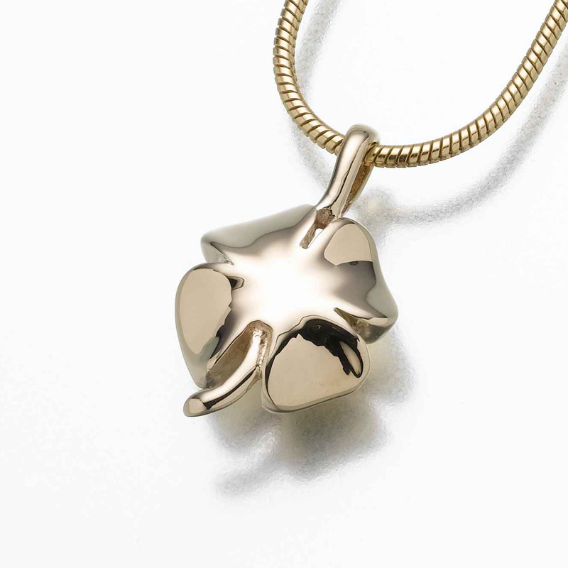 Lucky Four Leaf Clover Irish Luck Cremation