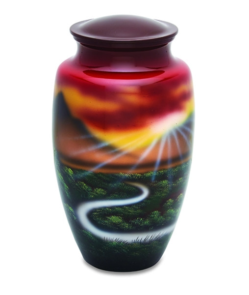 Meadow Scene Cremation Urn Cremation Solutions