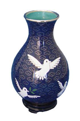 Dove Cloisonne Urn Cremation Solutions