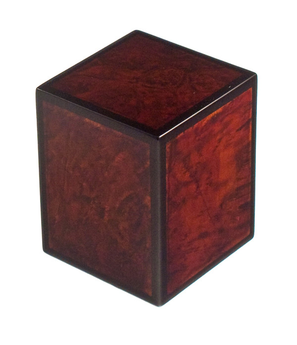 Cognac Cremation Urn Ashes Wood