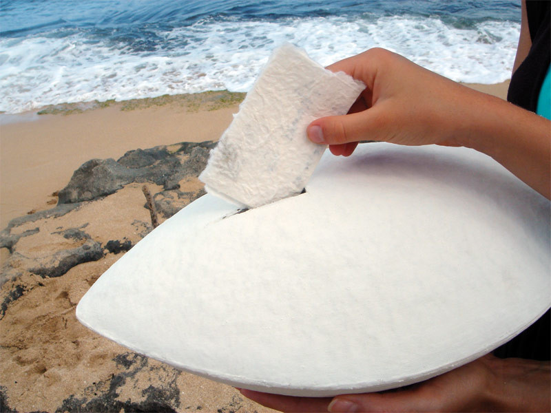 Ocean Messenger Biodegradable Urn Cremation