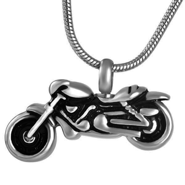 Cremation pendant that holds ashes pendant motorcycle necklace motorcycle cremation pendant aloadofball Choice Image