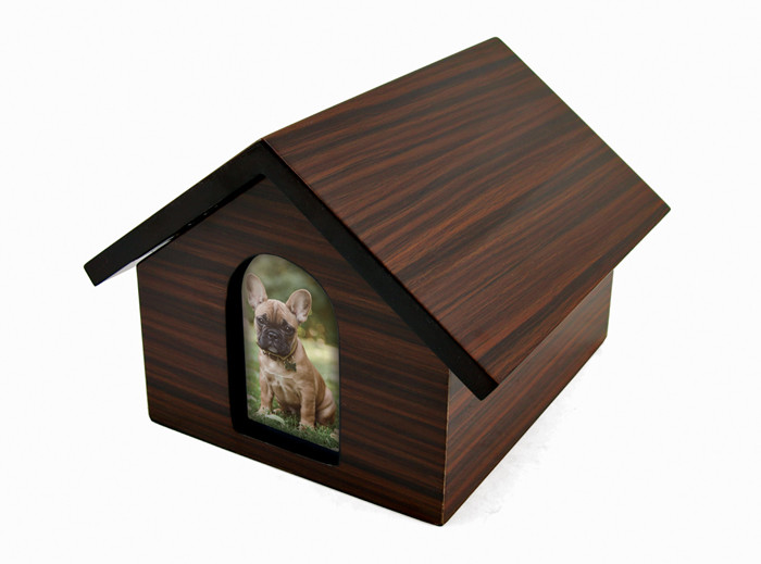 Dog House Urn Cremation Photo Ashes Pet