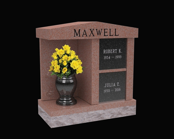 Maxwell Two Niche Columbaria With Alcove Cremation Solutiond