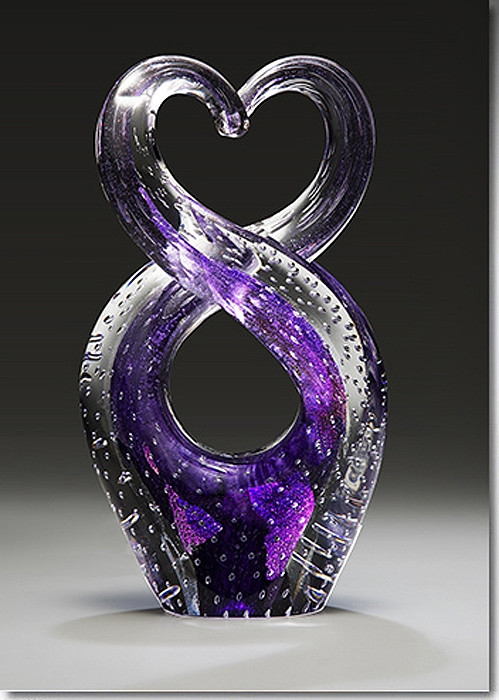 Skyward Glass Cremation Sculpture Cremation Solutions