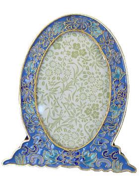 Azure Blue Cloisonne Urn Cremation Solutions