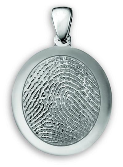Classic Medium Fingerprint Pendant Charm