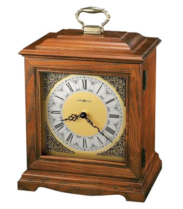 the continuum oak clock urn - Howard Miller Mantel Clock