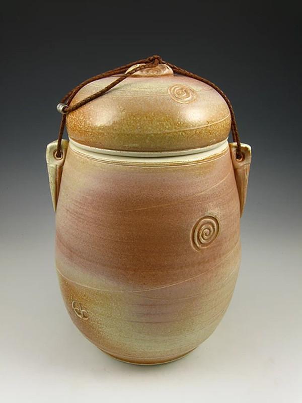 Desert Sun Soda Fired Urn Cremation Ashes
