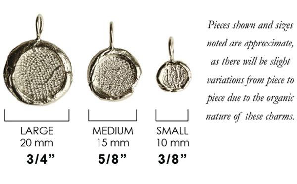 Organic Style Of Fingerprint Pendant And Charm