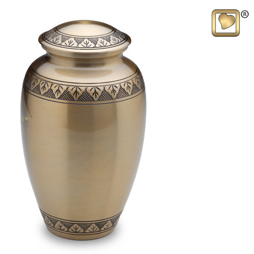 Classic Gold Or Pewter Cremation Urn Cremation Solutions