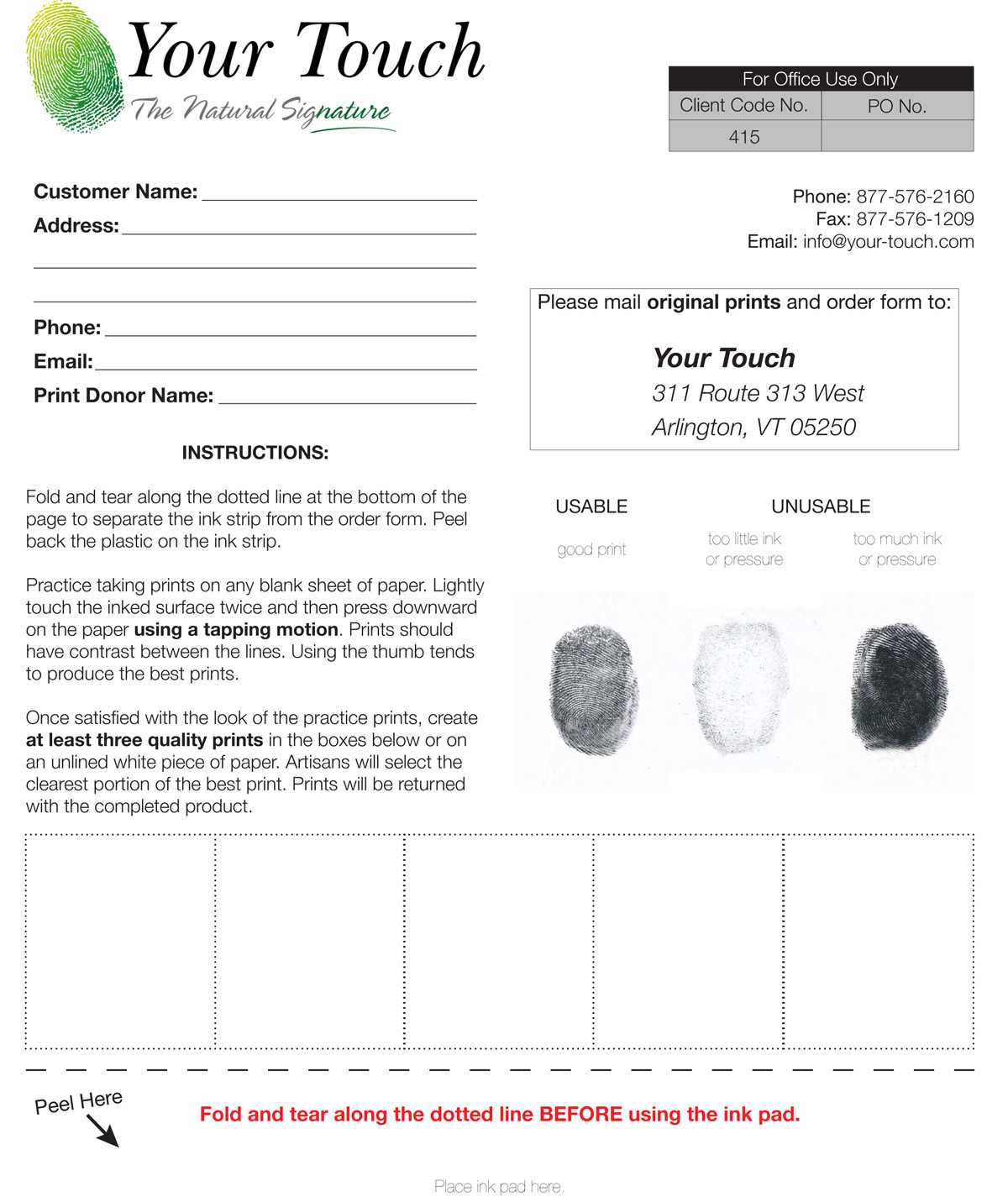 Fingerprint Form Tekil Lessecretsdeparis Co
