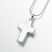 Large Cross in Sterling Silver
