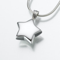 Star Pendant in Sterling Silver