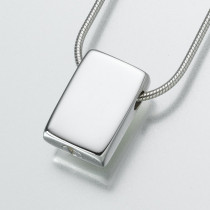 Slide Rectangle in Sterling Silver