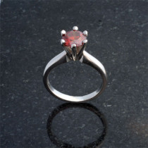 6-Prong Solitaire for Round Cut