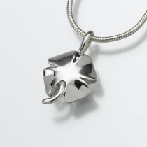 Lucky Four Leaf Clover in Sterling Silver