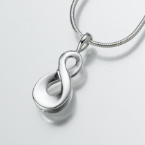 Infinity in Sterling Silver
