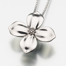 Dogwood Blossom in Sterling Silver