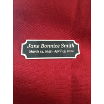 Name Plate (2 Sizes)