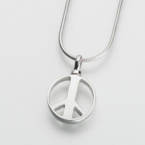 Peace Sign Pendant (3 Metal Options)