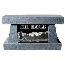 Masters Cremation Bench (3 Sizes and 8 Colors)
