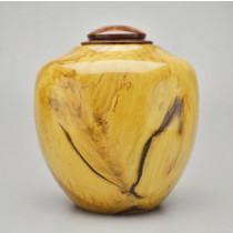Hand Turned Spalted Southern Magnolia Urn