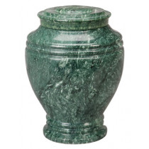 Green Earth Marble Urn (2 Sizes)