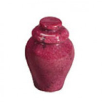 Garnet Red Keepsake Marble Urn