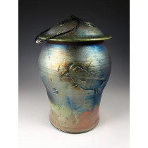 The Animal Spirit Raku Urn