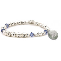 Birthstone Name Bracelet