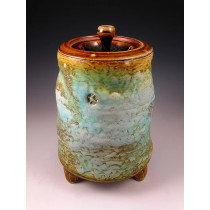 The Canyon Morning Soda Fired Urn