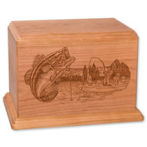 Newport Cremation Urn for Ashes Laser Engraved
