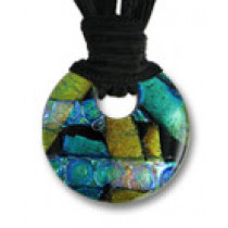 Circle of Eternity Dichroic Glass #05